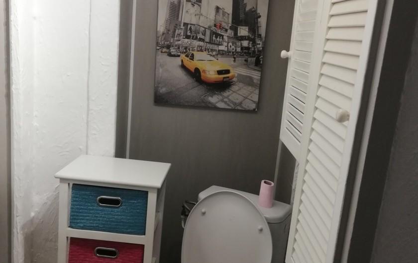 Location de vacances - Appartement à Herpelmont - Toilettes
