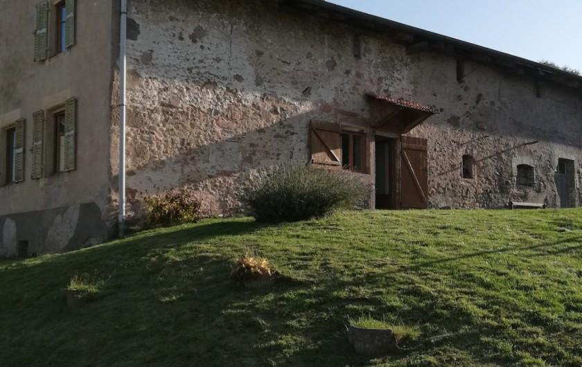 Location de vacances - Appartement à Herpelmont - Façade