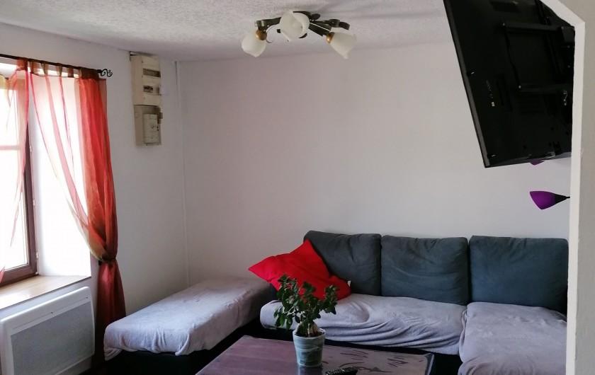 Location de vacances - Appartement à Herpelmont - Salon