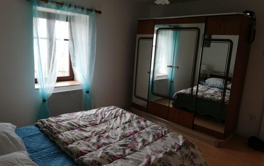 Location de vacances - Appartement à Herpelmont - Chambre 1