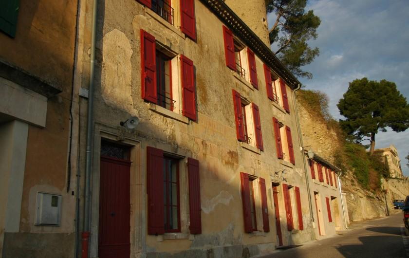Location de vacances - Maison - Villa à Ménerbes - La maison a une magnifique vue degagee.