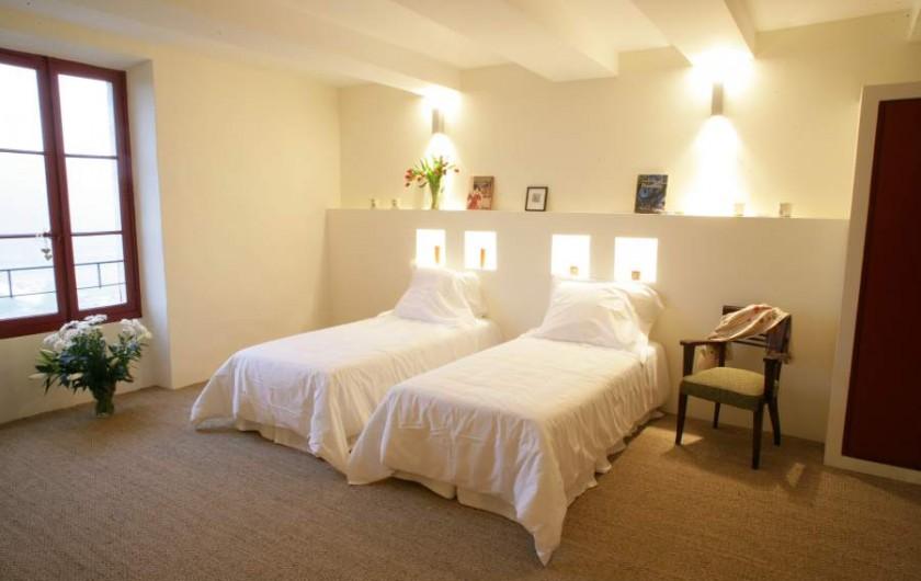 Location de vacances - Maison - Villa à Ménerbes - Chambre 1