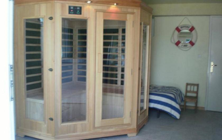 Location de vacances - Gîte à Saint-Aubin-sur-Mer - sauna