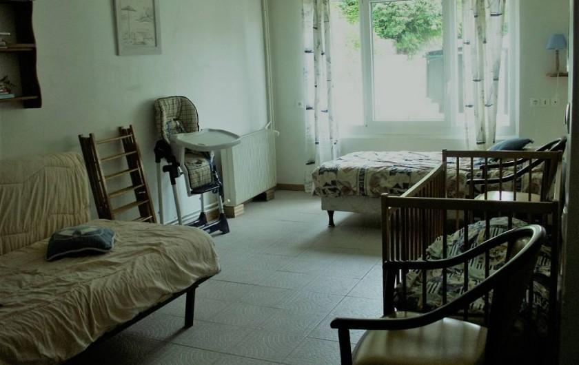 Location de vacances - Gîte à Saint-Aubin-sur-Mer - chambre rez de chaussée