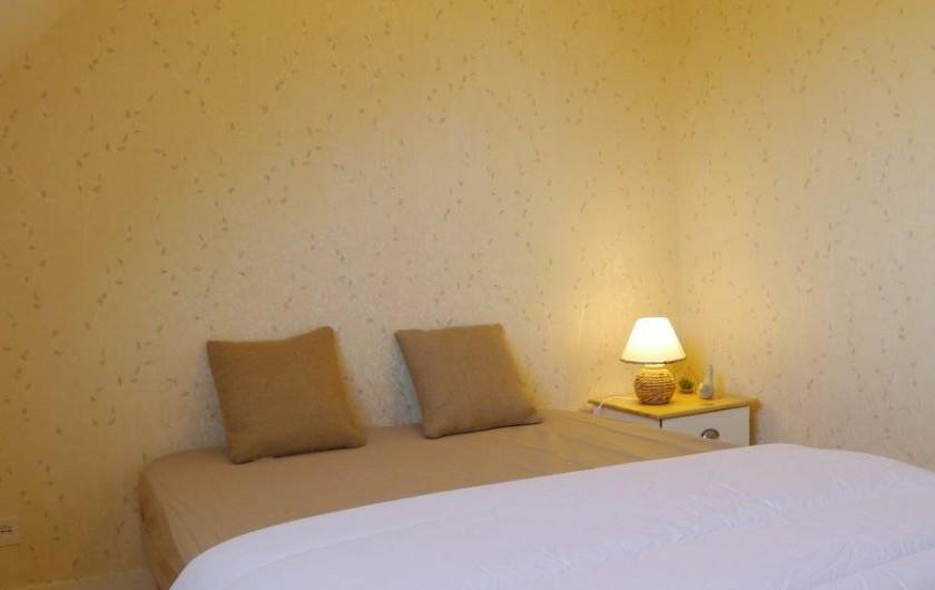 Location de vacances - Maison - Villa à Fouesnant - Chambre 3 à l'étage