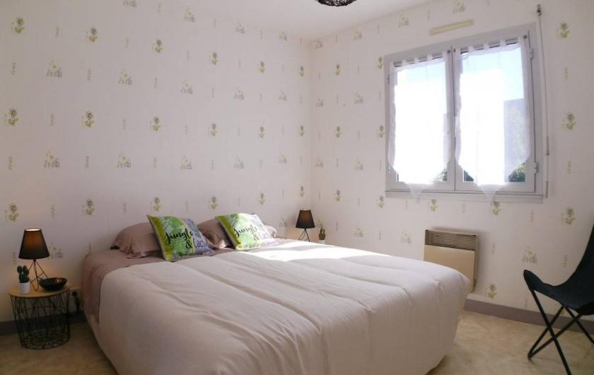 Location de vacances - Maison - Villa à Fouesnant - Chambre 1 au Rez-de-chaussée