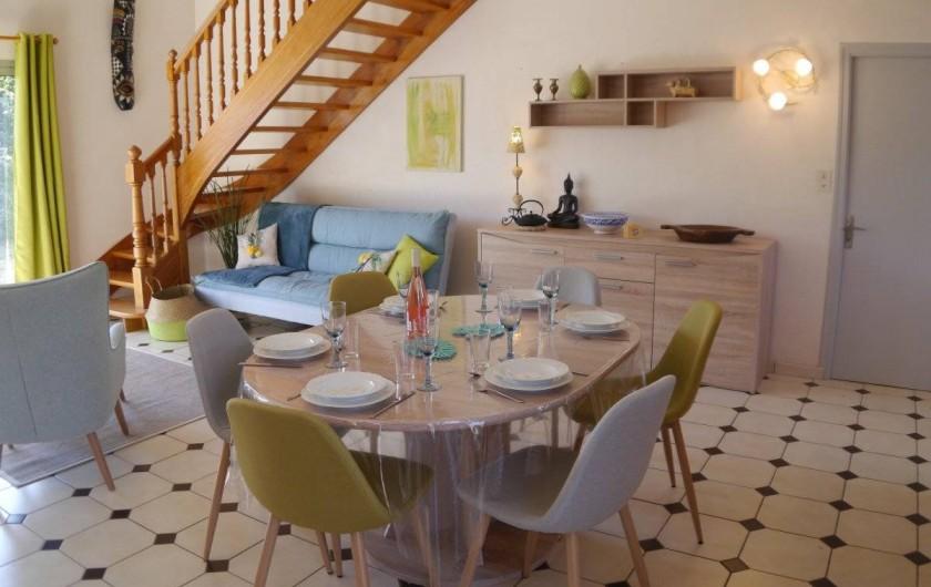 Location de vacances - Maison - Villa à Fouesnant - Espace salle à manger
