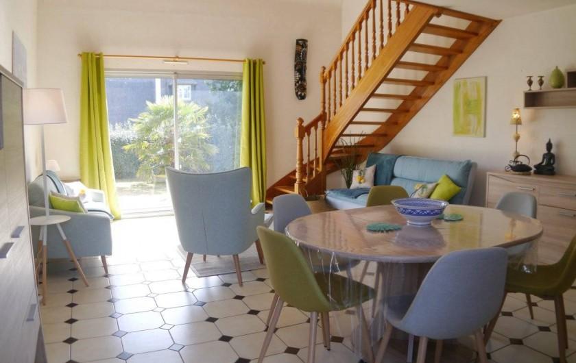 Location de vacances - Maison - Villa à Fouesnant - Espace de vie lumineux et chaleureux