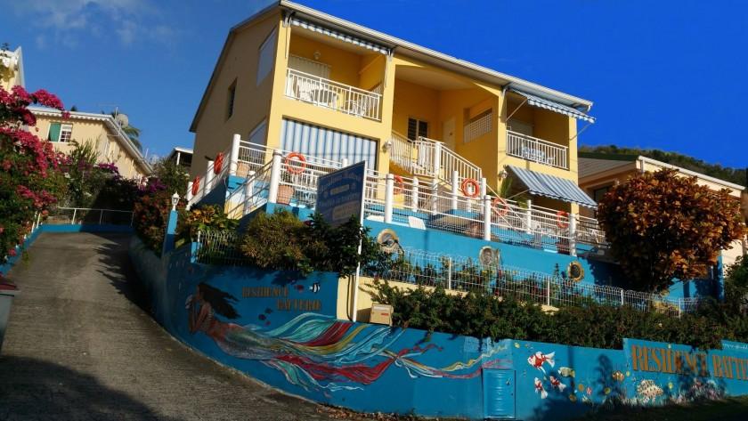 Résidence Batterie, 7 appartements  (F2 et F4) à 200 mètres de la plage .
