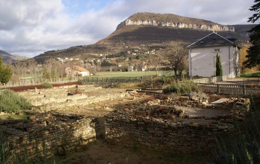Location de vacances - Gîte à Millau - Le site Gallo-Romain de Graufesenque