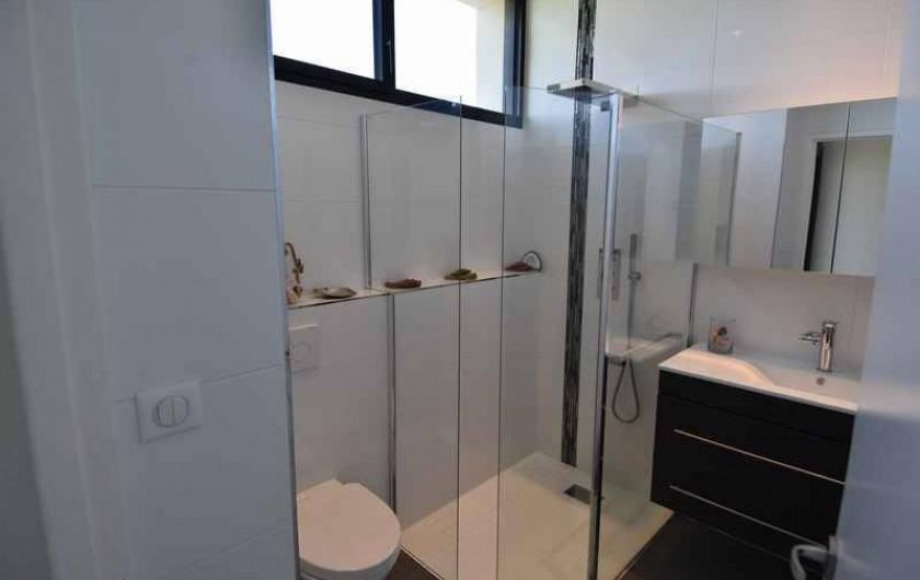 Location de vacances - Villa à Audierne - Salle de douche avec jets