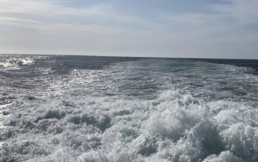 Location de vacances - Villa à Audierne - Une sortie à l'Ile de Sein pour découvrir nos cotes.