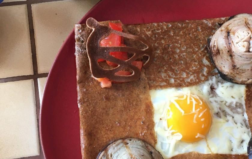 Location de vacances - Villa à Audierne - Crêpes, galettes, fruits de mer, poissons et crustacés venez savourer !