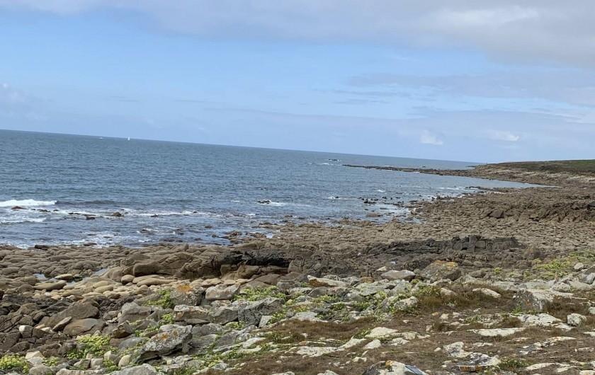 Location de vacances - Villa à Audierne - A deux pax de la côte sauvage et du sémaphore de Lervily.