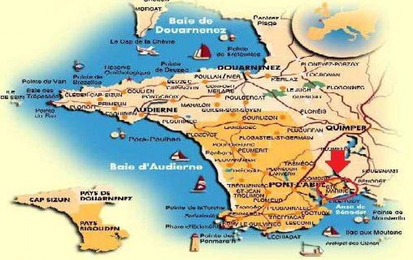 Location de vacances - Villa à Combrit