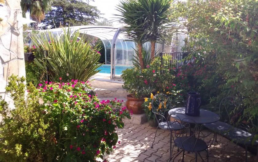 Location de vacances - Maison - Villa à Manosque - Accès piscine