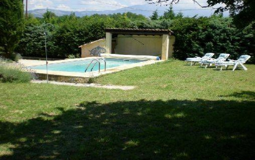 Location de vacances - Maison - Villa à Caromb