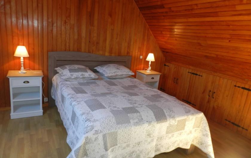 Location de vacances - Gîte à Plouhinec - Grande chambre N°1 avec lit double