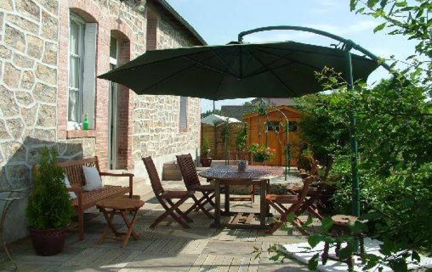 Location de vacances - Villa à Saint-Sulpice-les-Champs - TERRASSE