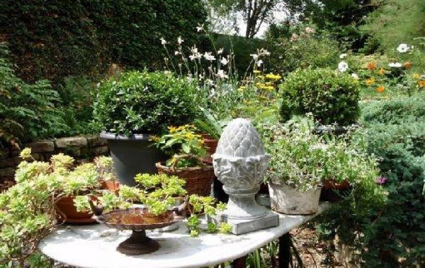 Location de vacances - Gîte à Sancey-le-Grand - le jardin