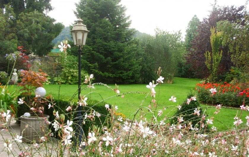 Location de vacances - Gîte à Sancey-le-Grand - le parc