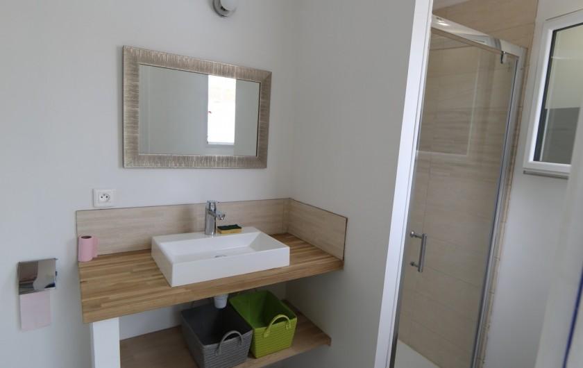 Location de vacances - Villa à Les Sables-d'Olonne - Salle d'eau avec wc