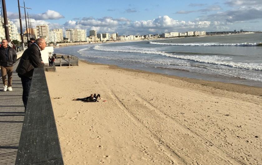 Location de vacances - Villa à Les Sables-d'Olonne - La plage du remblai