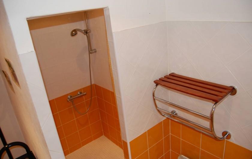 Location de vacances - Gîte à Aubignan - douche