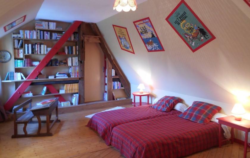 Location de vacances - Gîte à Pont-l'Évêque - Chambre n° 4 Tintin