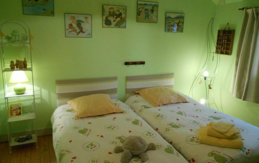 Location de vacances - Gîte à Pont-l'Évêque - Chambre n° 3 Des petits Chinois et des tortues