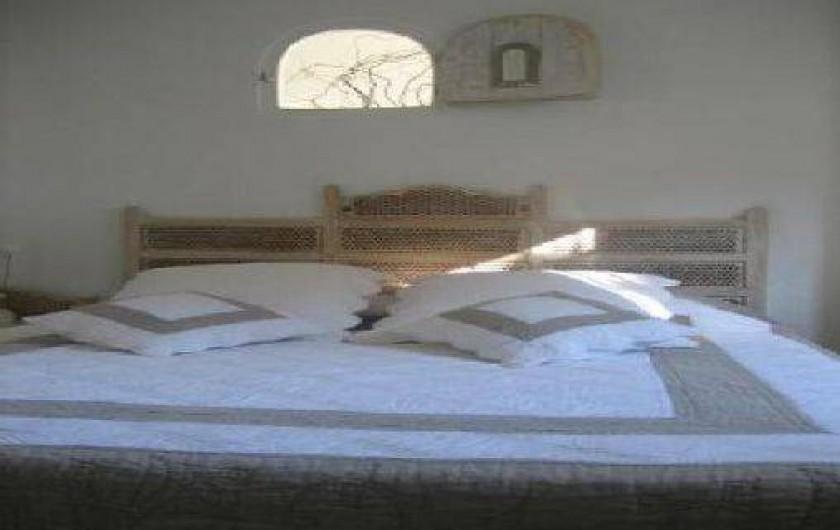 Location de vacances - Appartement à Banyuls-sur-Mer - chambre parentale
