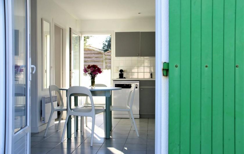 Location de vacances - Maison - Villa à Sainte-Marie-de-Ré - Coin cuisine