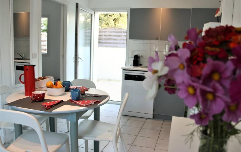 Location de vacances - Maison - Villa à Sainte-Marie-de-Ré - Le petit déjeuner est prêt