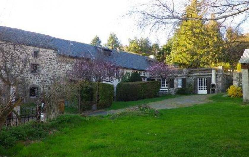 Location de vacances - Gîte à Saint-Nectaire - Vue d'ensemble de la propriété