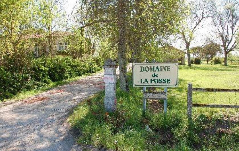 Location de vacances - Gîte à Saint-Vivien-de-Médoc - entrée