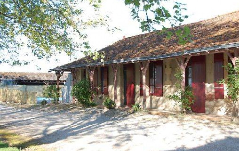 Location de vacances - Gîte à Saint-Vivien-de-Médoc - Nos 4 gites
