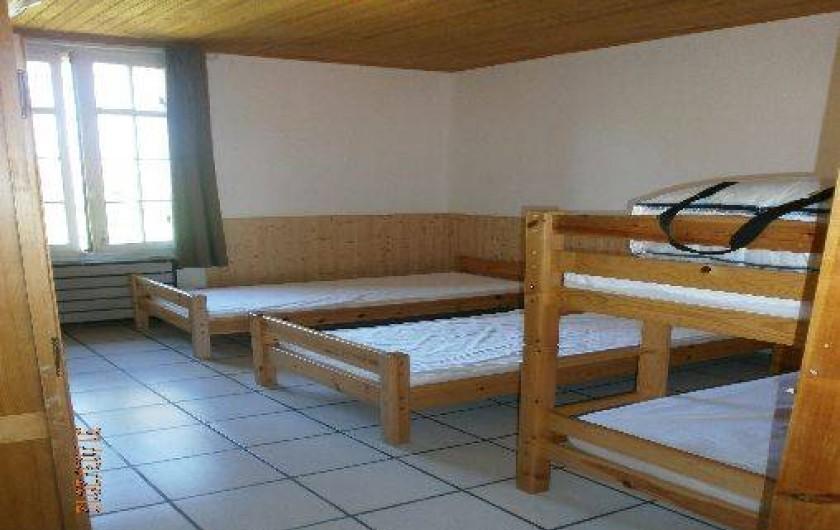 Location de vacances - Gîte à Saint-Vivien-de-Médoc - chambre avec lits simples
