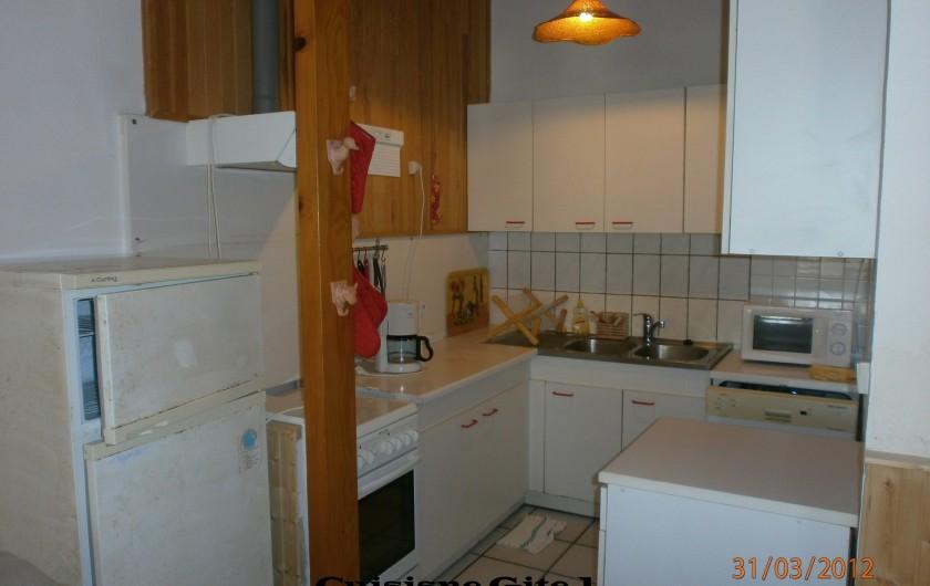 Location de vacances - Gîte à Saint-Vivien-de-Médoc - cuisine  gite 1