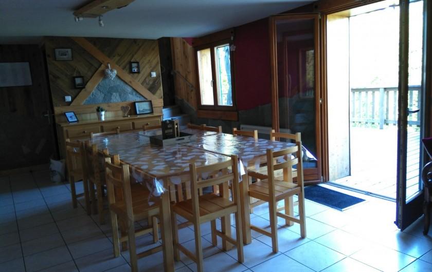 Location de vacances - Chalet à Saint-Maurice-sur-Moselle - SALLE A MANGER