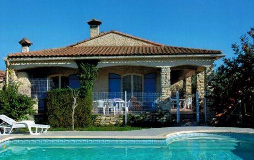 Location de vacances - Villa à La Calmette