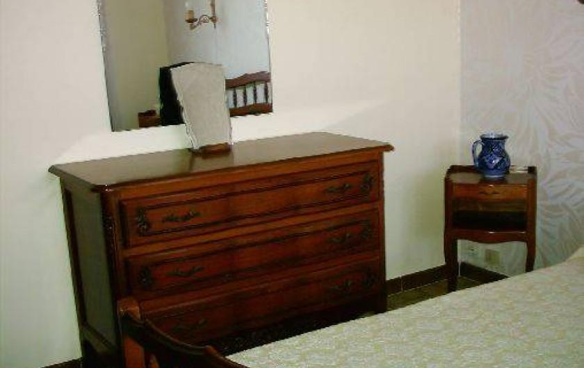 Location de vacances - Villa à Six-Fours-les-Plages - Chambre 1