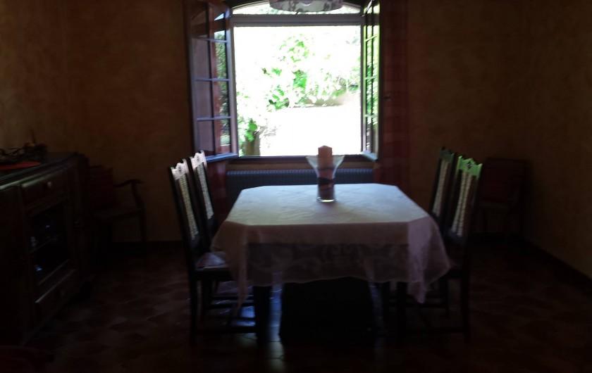 Location de vacances - Villa à Six-Fours-les-Plages - Salle à manger