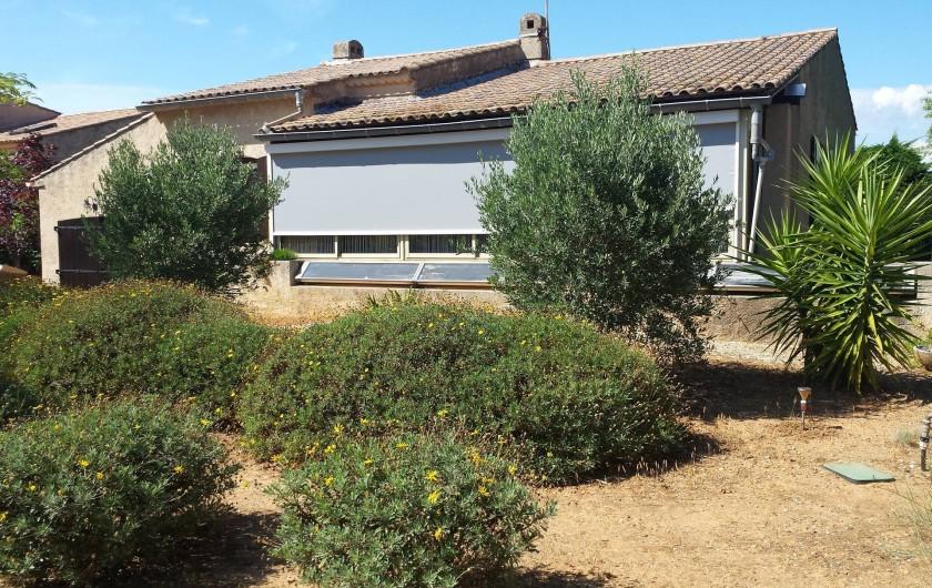 Location de vacances - Villa à Six-Fours-les-Plages - Façade sud