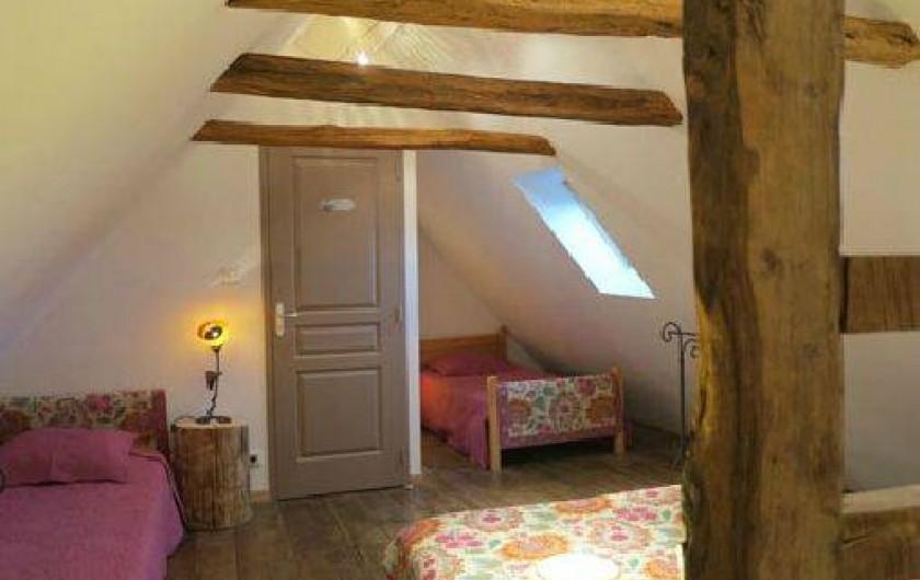 """Location de vacances - Gîte à Saint-Pierre-de-Nogaret - Chambre """"Les Monts d'Aubrac"""""""