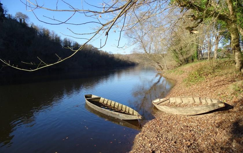 Location de vacances - Gîte à Carsac-Aillac - La rivière Dordogne à 500m du gîte