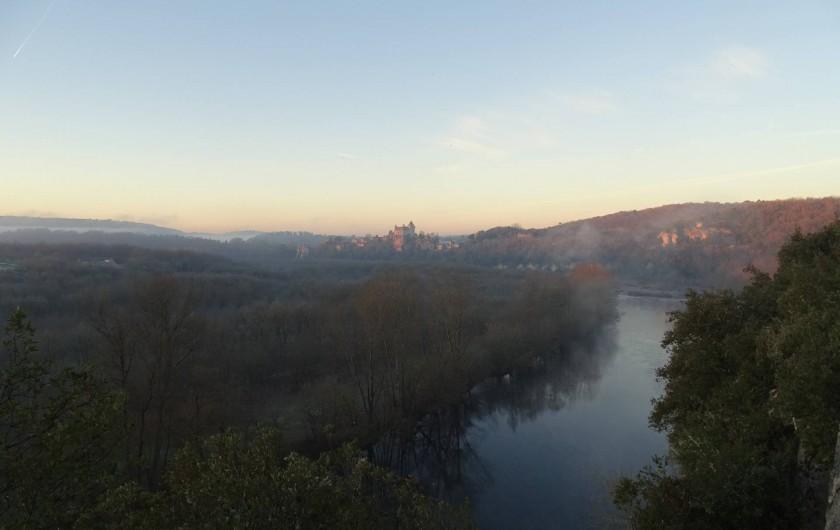 Location de vacances - Gîte à Carsac-Aillac - La Dordogne à 500m du gîte