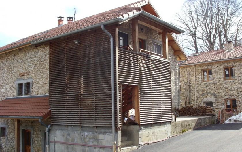 Location de vacances - Gîte à Saint-Martin-en-Vercors