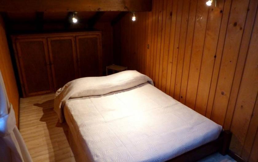Location de vacances - Appartement à Le Grand-Bornand - Chambre individuelle -  lit double
