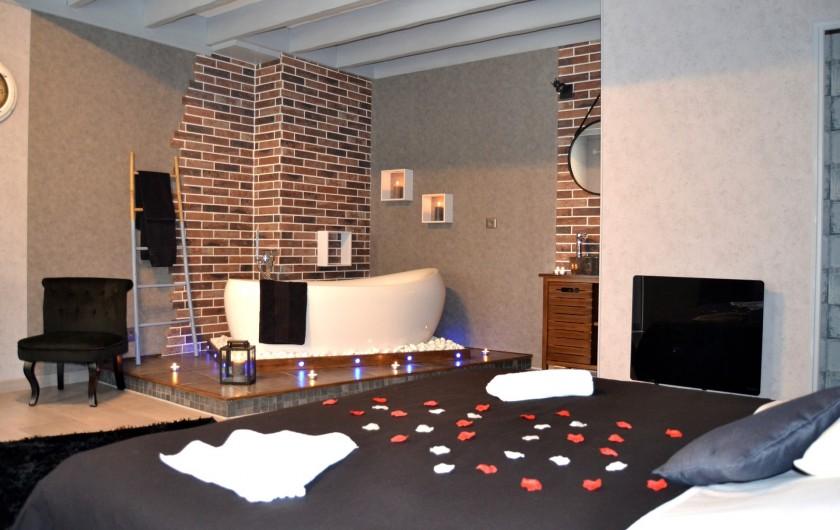 Location de vacances - Chambre d'hôtes à Vandenesse-en-Auxois - Chambre Dionysos