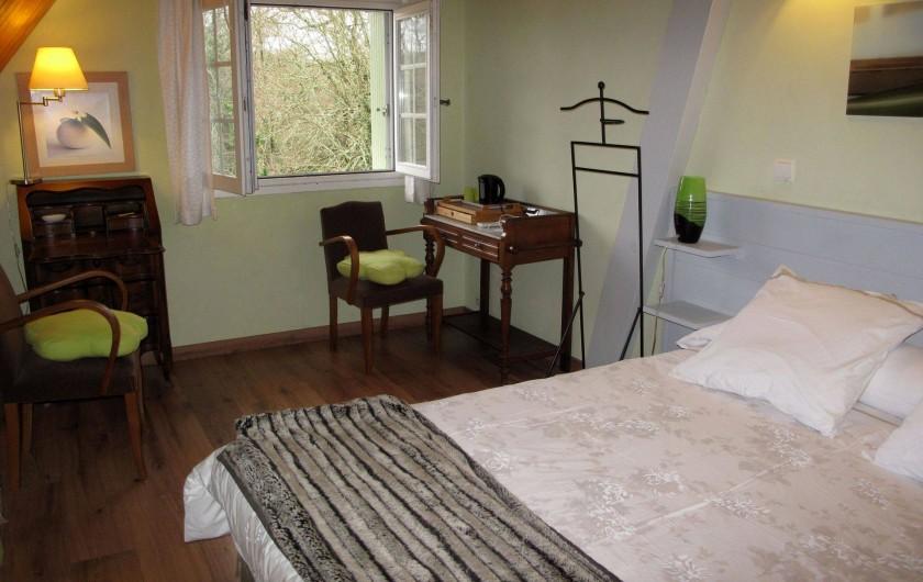 Location de vacances - Chambre d'hôtes à Habas - Chambre parentale de la suite familile, Chalosse : deux à six personnes